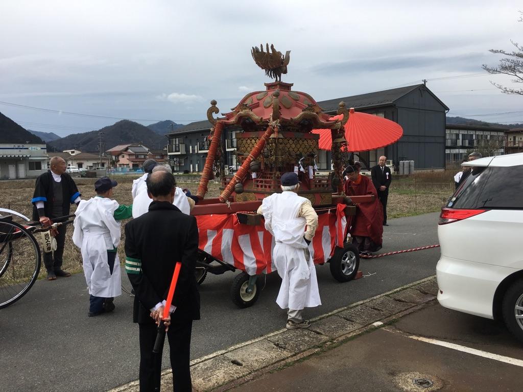 但馬の三大祭り「初午祭」